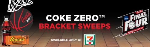 7-Eleven Free Big Gulp Drink for Playing Coke Zero Bracket Sweeps - Exp. April 6, 2015, US