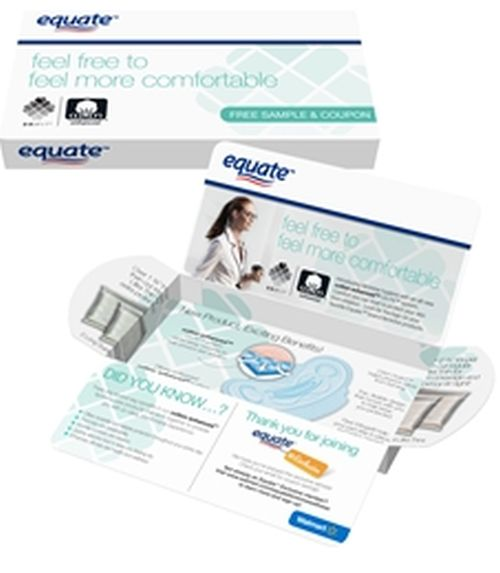 Equate Feminine Care Free Product Samples - US