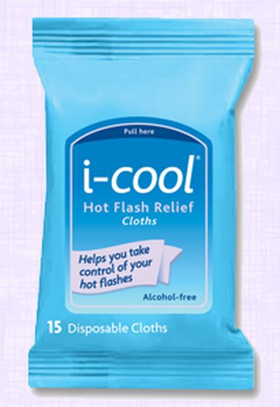 i-cool Hot Flash Relief Cloths Free Sample - US