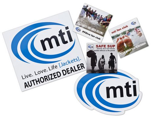 mti Free Live. Love. Life [Jackets]! Sticker - US