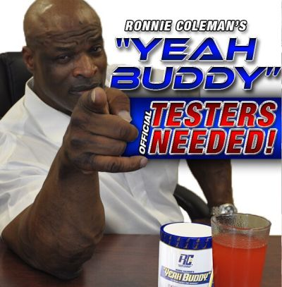Ronnie Coleman Signature Series Yeah Buddy! Extreme Energy Pre-Workout Supplement