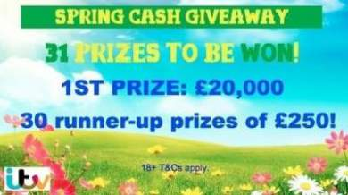 31 prizes spring competition 20000