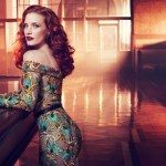 Jessica Chastain in Vogue Italia