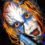 Creative Halloween Face Painting Photography
