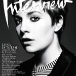 Lena Dunham Covers 'Interview' Magazine February 2013
