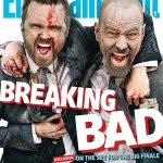 Bryan Cranston and Aaron Paul for Entertainment magazine