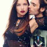 """Famous models as """"Romeo and Juliet"""" for Harper's Bazaar US"""