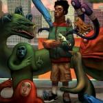 Illustrations by Dennis Brown ( Bagger )