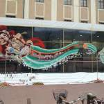 "Nychos ""Dissection Of The Little Mermaid"" New Mural in Linz, Austria"