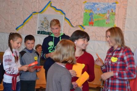 Schüler in Horodischtsche