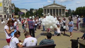 Luftballons - die Attraktion