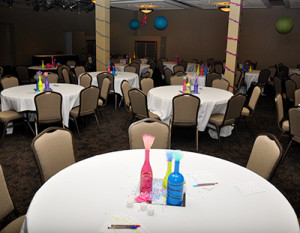 Receptions Minimal Setup