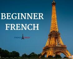 Beginner French Lessons