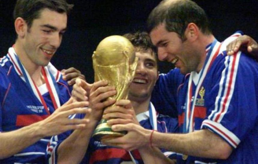 This Victory Came Exactly 15 Years And A Day After The Full Squad Secured Frances Biggest Footballing Triumph At