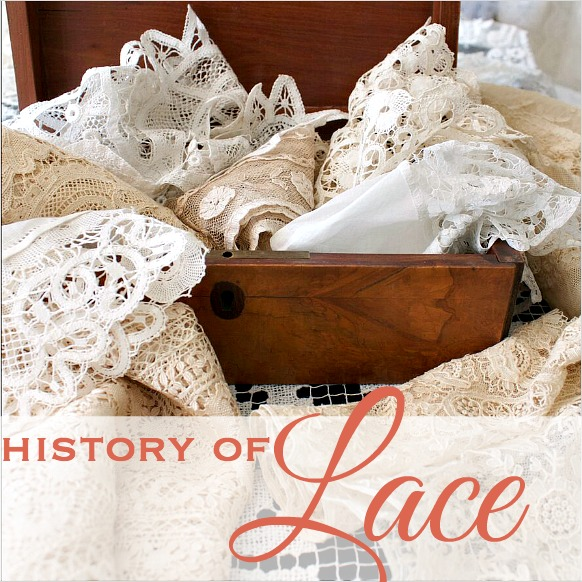 Secret Life of Antiques | The History of Lace