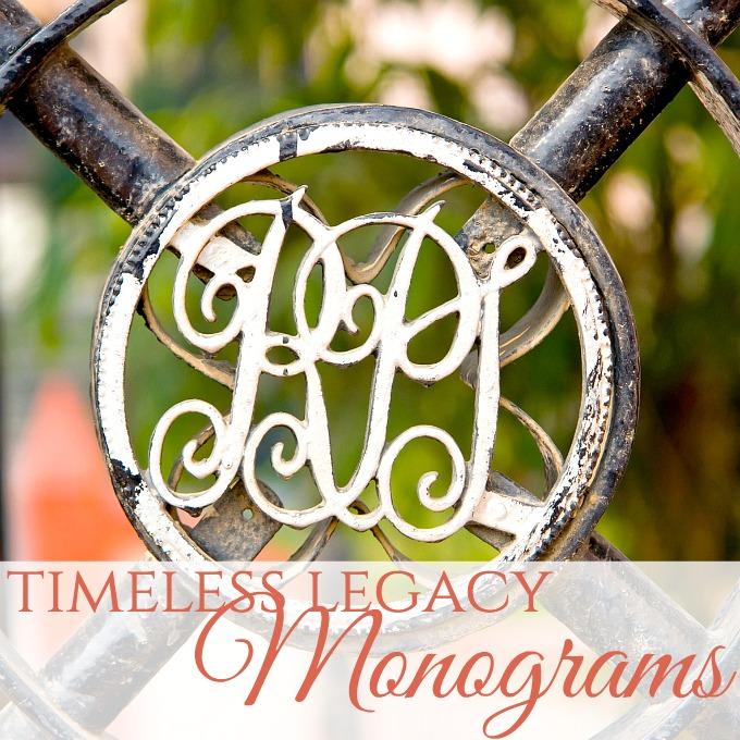 Timeless Legacy   Monograms