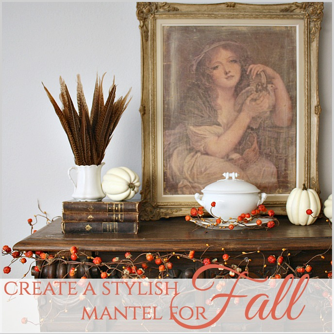 How to Create a Stylish Mantel for Fall