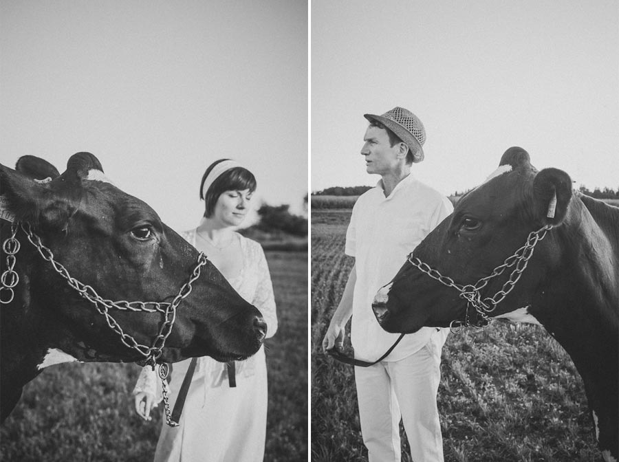 MaitJuriado Tuuli+Teet 03 Amazing Couple Session with a Cow