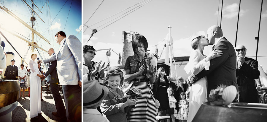 Wozaczinski Dagmara+Maciek 11 Married on a Boat in a Beautiful Sailor Outfit