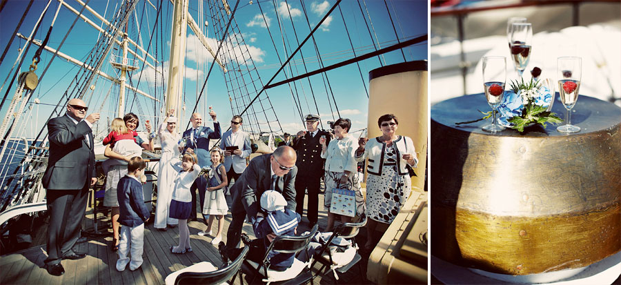 Wozaczinski Dagmara+Maciek 13 Married on a Boat in a Beautiful Sailor Outfit