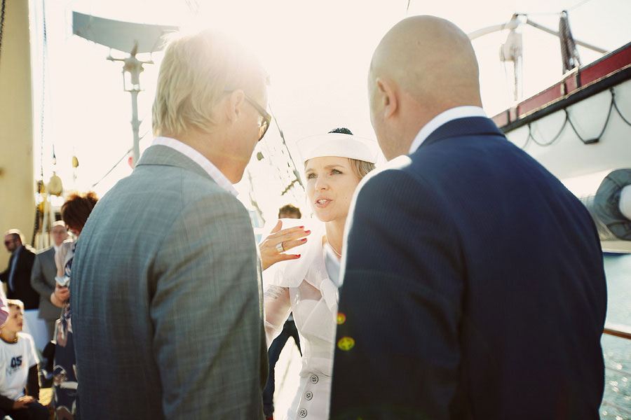 Wozaczinski Dagmara+Maciek 18 Married on a Boat in a Beautiful Sailor Outfit