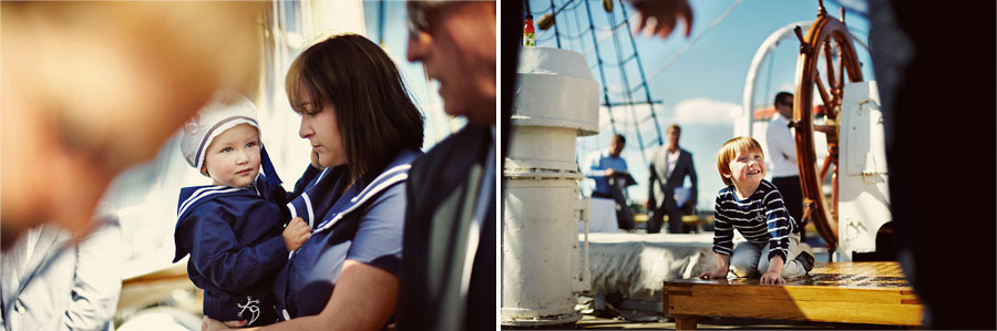Wozaczinski Dagmara+Maciek 20 Married on a Boat in a Beautiful Sailor Outfit