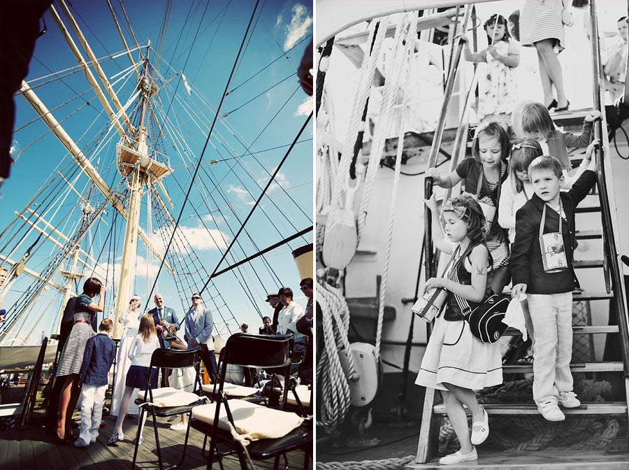 Wozaczinski Dagmara+Maciek 21 Married on a Boat in a Beautiful Sailor Outfit