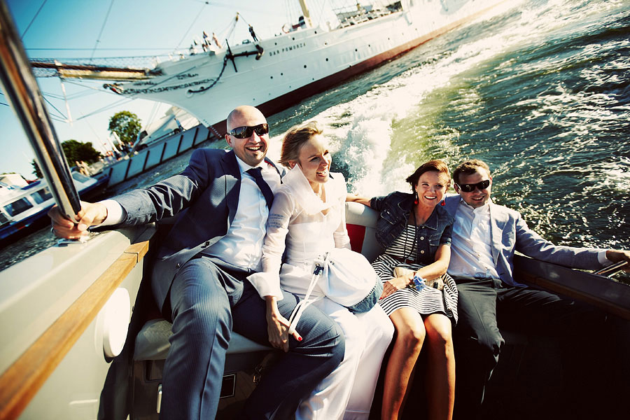 Wozaczinski Dagmara+Maciek 27 Married on a Boat in a Beautiful Sailor Outfit