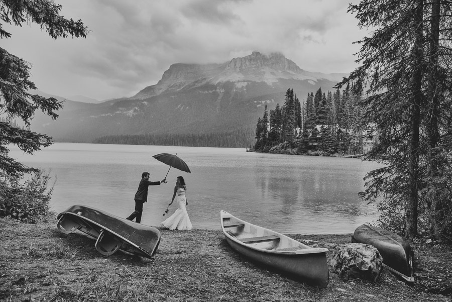 emerald lake lodge photo session carey nash 07 Canadian Emerald Lake Wedding Photos