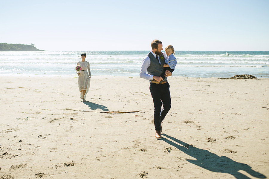 tofino beach wedding nordica photography 19 Intimate and Personal Wedding on the Beach in Canada