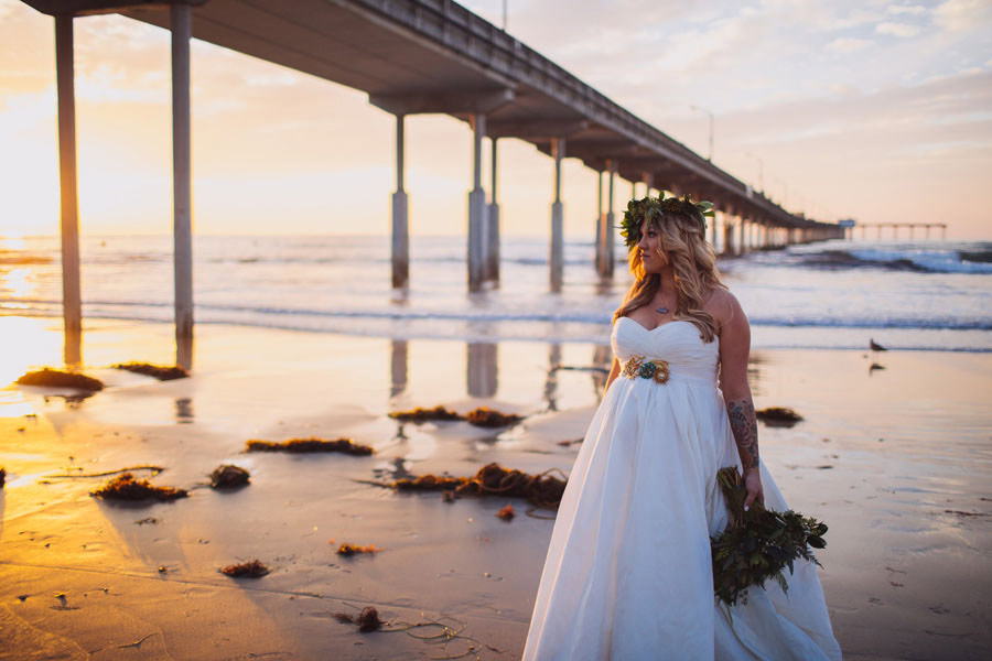 sea elopement pregnant bride 28 An Elopement in San Diego with a Nearly 9 Months Pregnant Bride