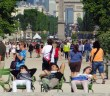 Relaxing at the Tuileries, Paris © French Moments