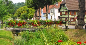The village of Hirtzbach in Alsace © French Moments