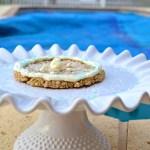 Giant Breakfast Oatmeal Cookie {2 ingredients, GF}