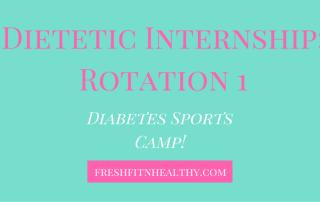 dietetic internship rotations