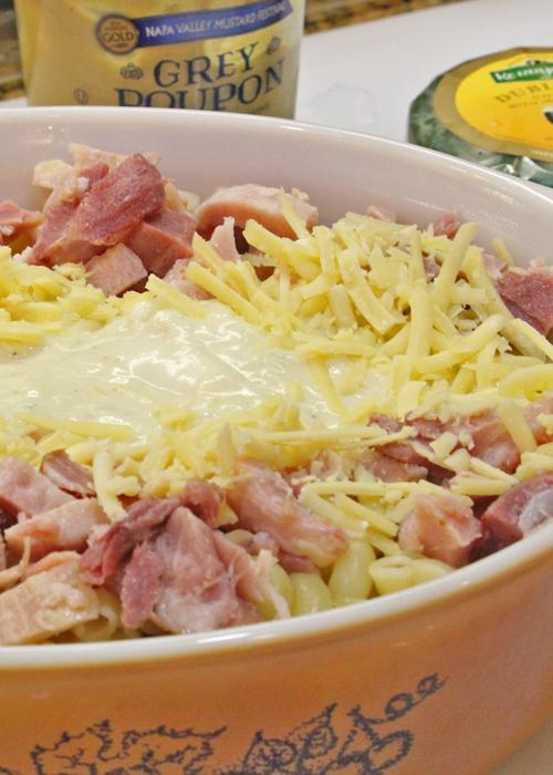 Mac, Ham and Cheese