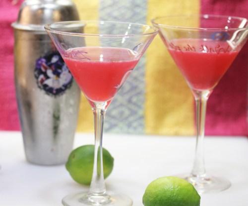 Mexican Cosmopolitan Cocktails