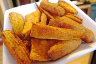 Sweet Potato + Carrot Curry-Cumin 'Fries' | Freshly Grown