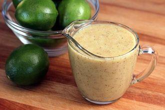 Honey-Lime Vinaigrette by The Yummy Life