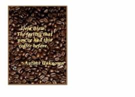 FC 530 coffee  Deja Brew