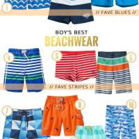WEAR // Best Boy's Beachwear