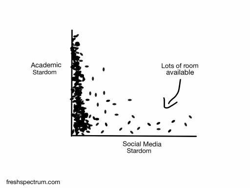 Social media stardom