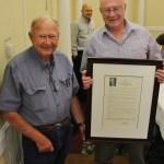 Veteran Arvin-Edison Leader Frick Honored