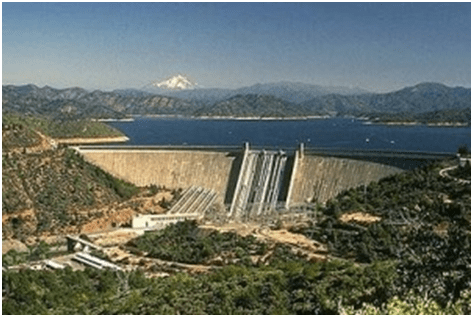 Shasta Dam and Lake Shasta