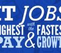 IT Jobs with the Highest Pay and Fastest Growth - Infographic