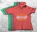 Old Crumpled T-Shirt Mockup