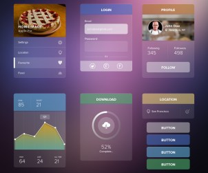 Transparent UI Kit