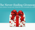 The Never-Ending Giveaway by Elegant Themes