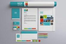 Stationery Presentation Mock-up Template