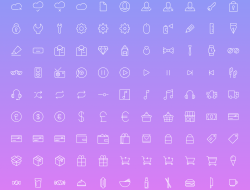 Simple Line Icons 2 - 100 Free Icons
